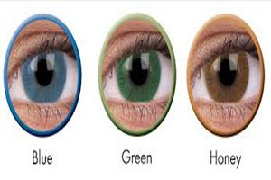 Change your look with color contact lenses