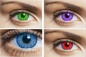 Get a new eye color with colored contact lenses